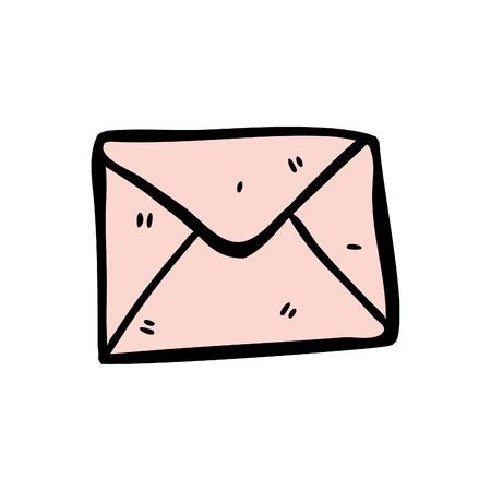 envelope doodle Vector