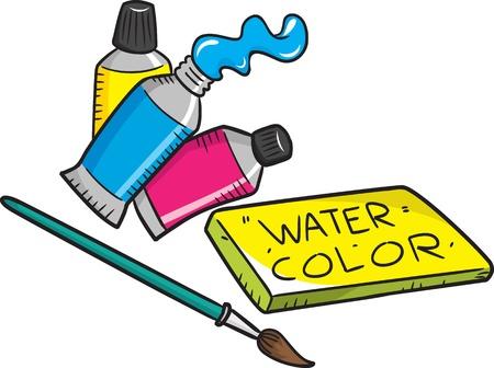 paint tube: painting equipment