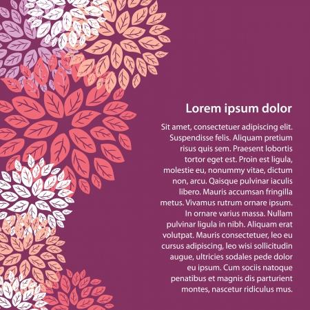 floral design Stock Vector - 14187311