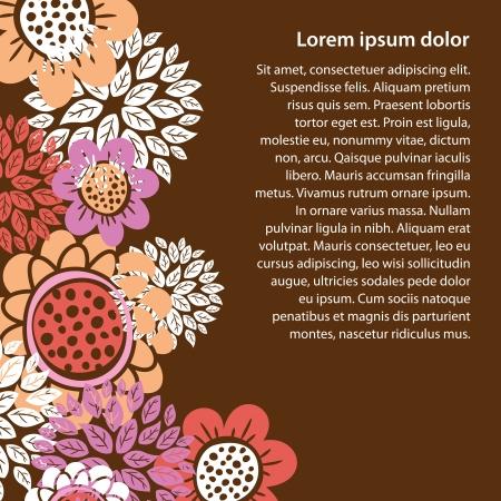 floral design Stock Vector - 14187306