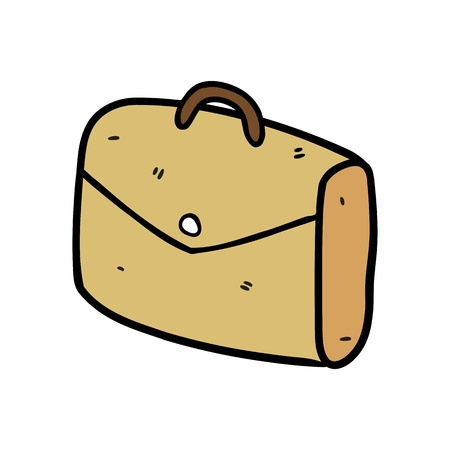 suitcase in doodle style Stock Vector - 14336139
