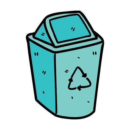 recycle bin Stock Vector - 14336153