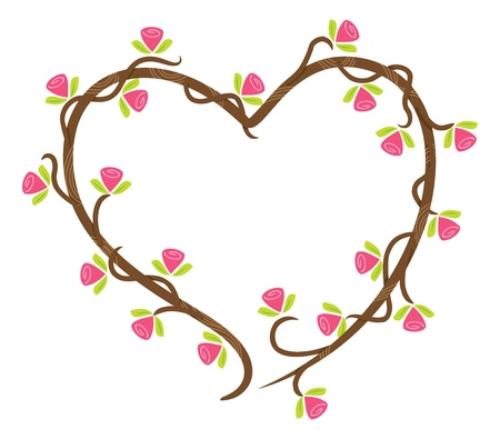 wedding clipart: love floral