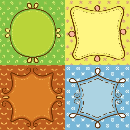 cute frame doodle Stock Vector - 14520217