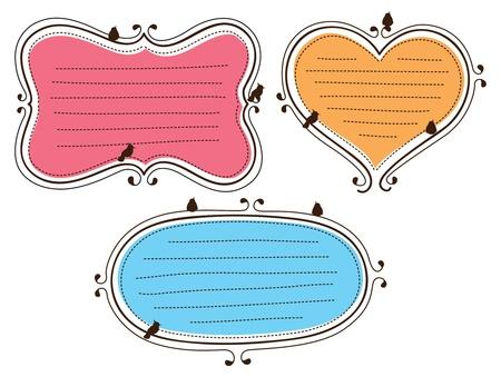 cute frame doodle Stock Vector - 14520219