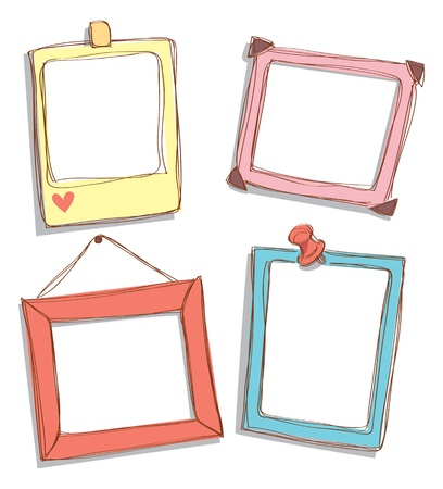 cute frame doodle Stock Vector - 14520218