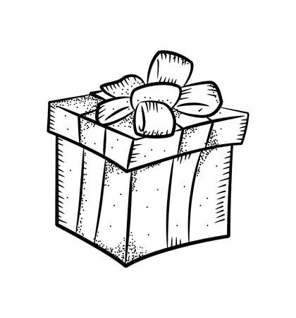 frame  box: Christmas gift