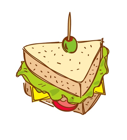 food clipart: sandwich
