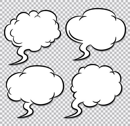 comic bubble: comic bubble speech