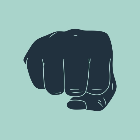 hand fist Stock Vector - 15567881