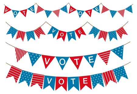 election garland  Vector