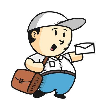 post man Vector