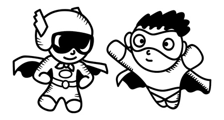 hero cartoon