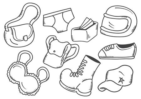 pant: apparel doodle
