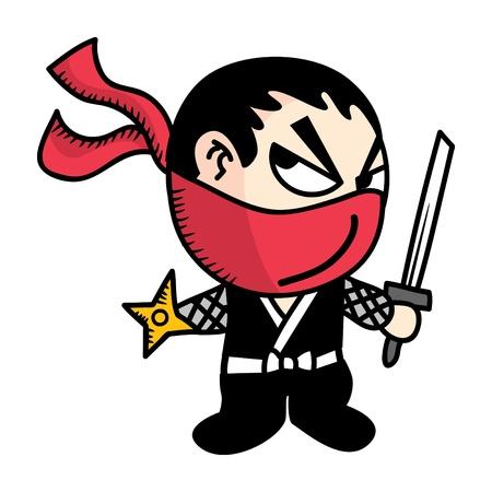 ninja weapons: ninja warrior cartoon