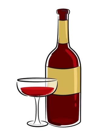 wine dinner: wine icon