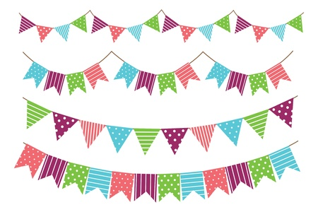 garland decoration Vector