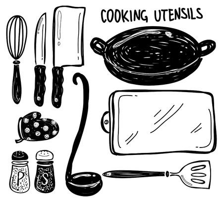 viande couteau: ustensile de cuisine