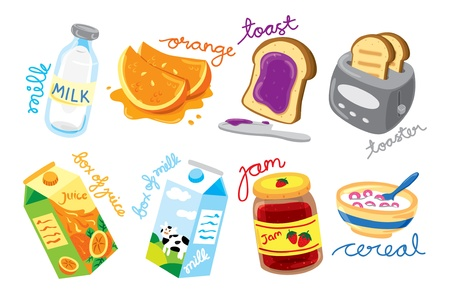 breakfast icon Stock Vector - 18336073
