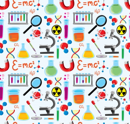 scientific experiment: laboratory equipment background