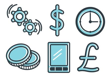 business theme icon Stock Vector - 18335142