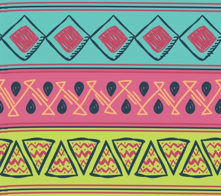 folk art: tribal background