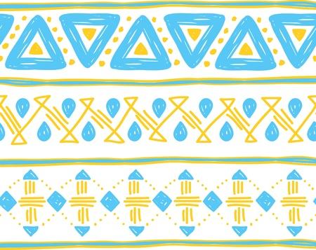 tribal background Stock Vector - 18336096