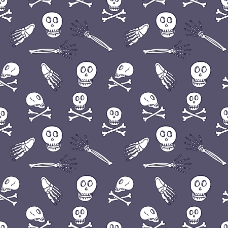 skull seamless pattern Stock Vector - 18436955