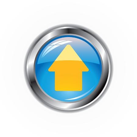 upload icon Stock Vector - 18457741
