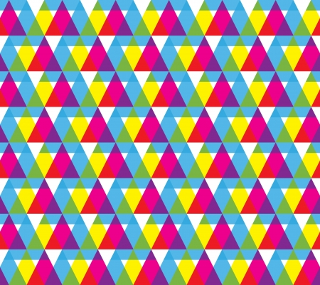 nineties: Geometric shape seamless pattern