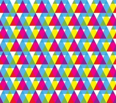 Geometric shape seamless pattern Stock Vector - 18453309