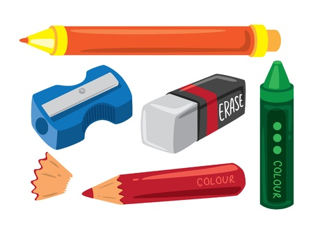 sacapuntas: equipamiento escolar