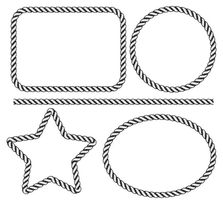 rope background: rope frame