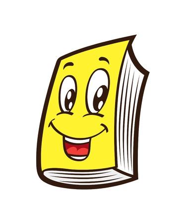 libro caricatura: libro de caricaturas Vectores