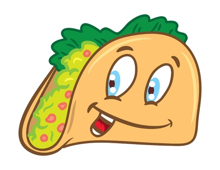 Cartoon tacos