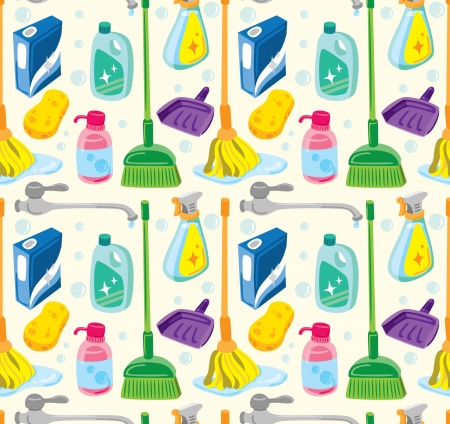 mop: Cleaning kit background