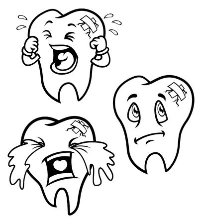3,899 Toothache Cartoon Cliparts, Stock Vector And Royalty Free ...