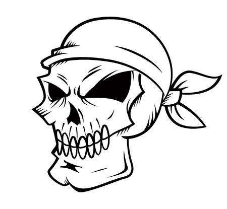cartoon skull Stock Vector - 19843280