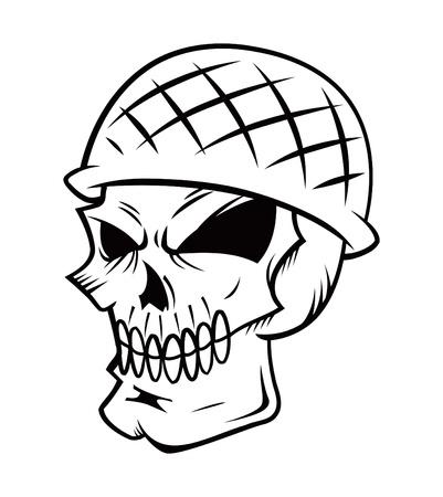 cartoon skull Stock Vector - 19843272