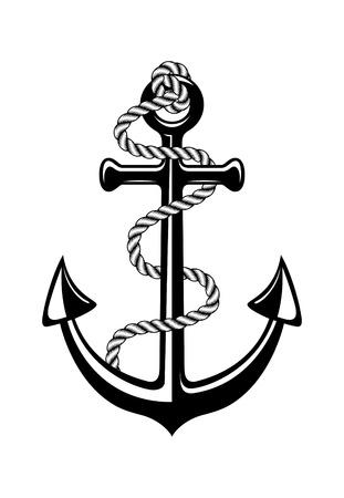 ancre marine: symbole ancre