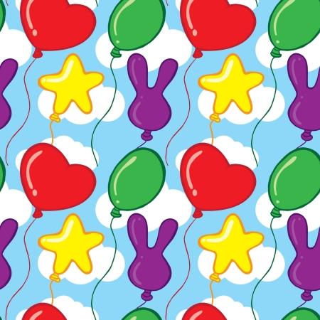 balloon pattern Stock Vector - 21522938