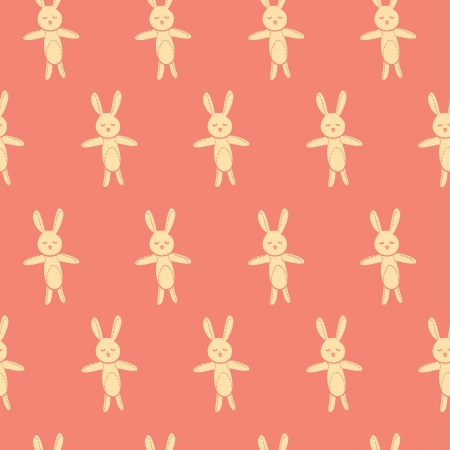 bunny seamless pattern Stock Vector - 21523007