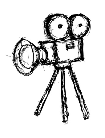 camera film Vectores