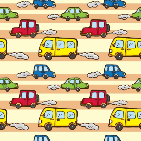 car pattern Stock Vector - 21523023