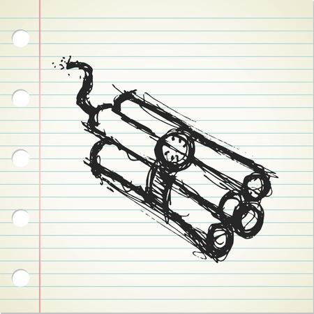 time bomb: dynamite doodle