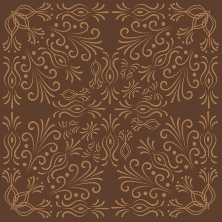 pattern background: abstract floral shape