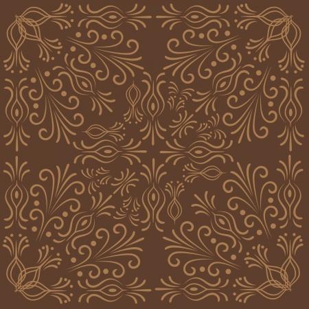 Forme florale abstraite Banque d'images - 21523344