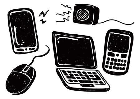gadget: Ensemble de gadget doodle