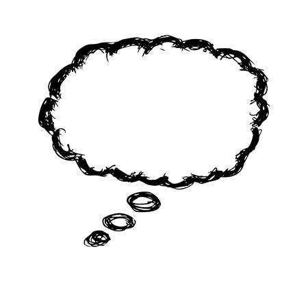 bubble pen: Hand drawn bubble speech