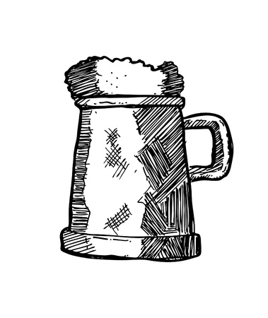 hand drawn beer Stock Vector - 21523662